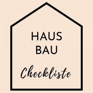 Hausbau Checkliste Logo