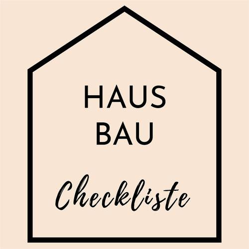 Hausbau Checkliste